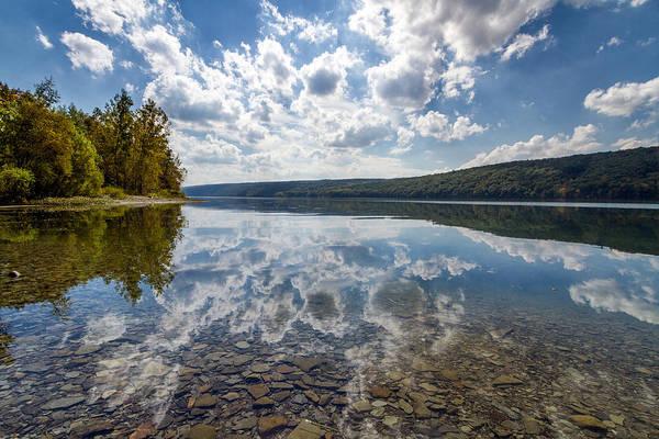 Livonia Photograph - Hemlock Lake Ny by Daniel Dangler