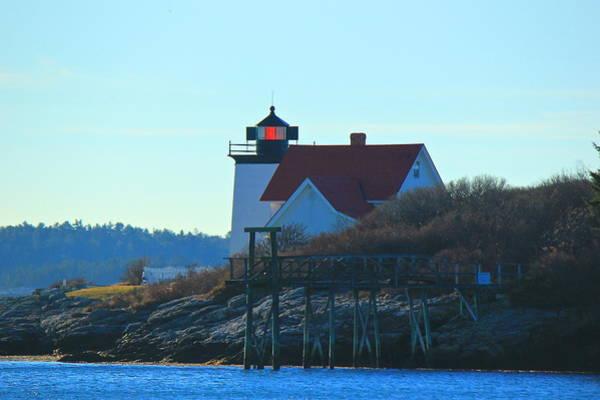 Photograph - Hendricks Head Lighthouse by Amazing Jules