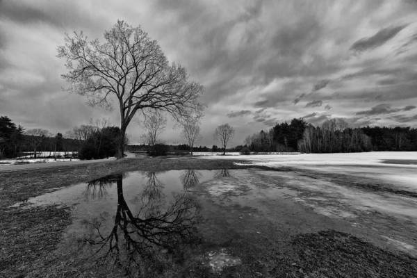Henniker Photograph - Henniker Winter's End by Scott Snyder