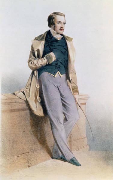 Epaulette Photograph - Henri Charles Ferdinand Marie Dieudonne De France, Duc De Bordeaux, Comte De Chambord Litho by Joseph Felon
