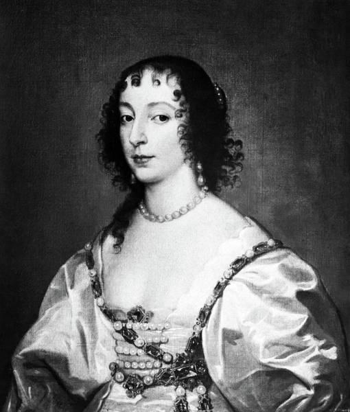 Painting - Henrietta Maria (1609-1669) by Granger