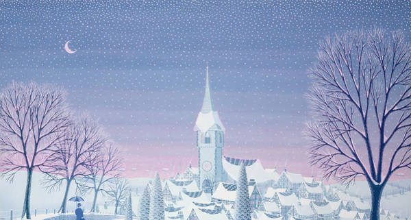 Wall Art - Painting - Henris Winter Innocence by Peter Szumowski