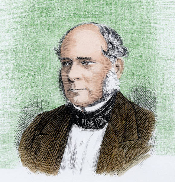 Sir Photograph - Henry Bessemer by Science Photo Library