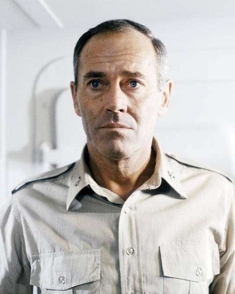 Midway Photograph - Henry Fonda In Midway  by Silver Screen