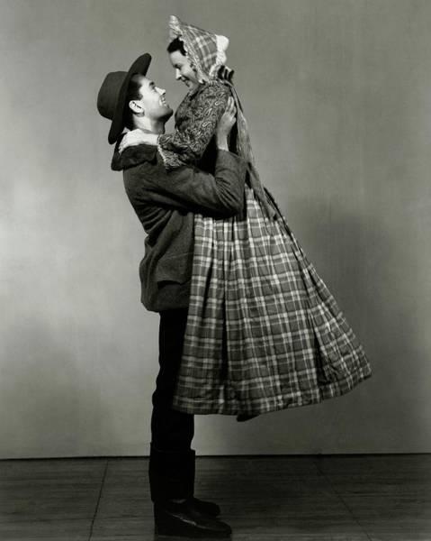 Love Photograph - Henry Fonda Lifting June Walker by Florence Vandamm