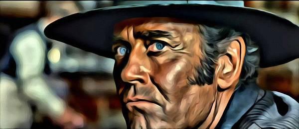 Painting - Henry Fonda Portrait by Florian Rodarte