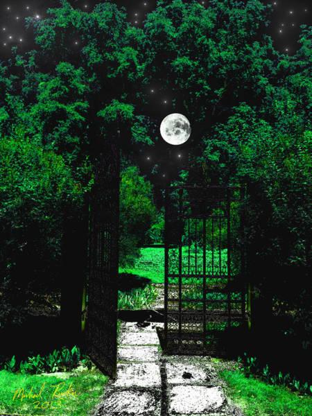 Wall Art - Digital Art - Henry Ford Rose Garden by Michael Rucker