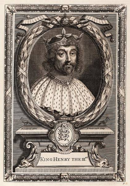 Middle Ages Photograph - Henry IIi by Middle Temple Library