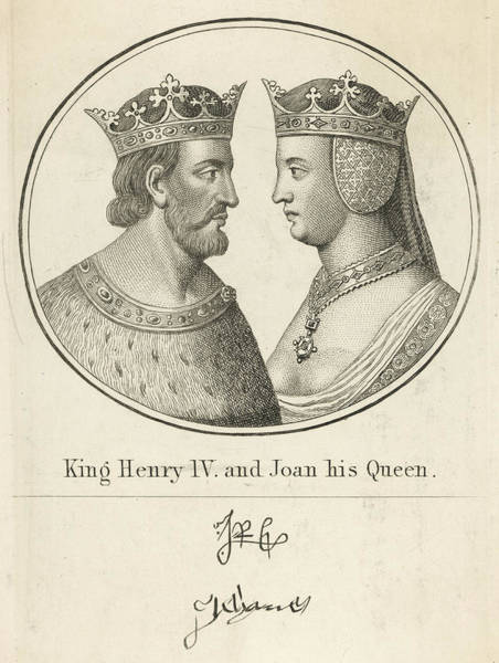 Wall Art - Drawing - Henry Iv King Of England(1366-1413) by Mary Evans Picture Library