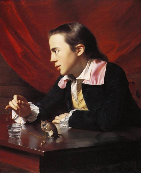 Leash Painting - Henry Pelham (c1748-1806) by Granger