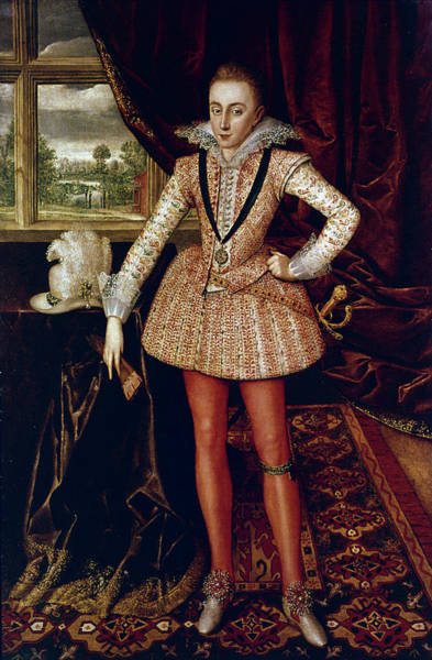 Adolescent Painting - Henry, Prince Of Wales (1594-1612) by Granger