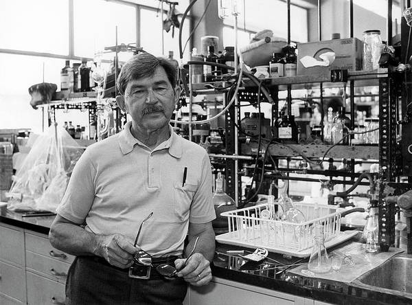 Isotope Photograph - Henry Taube by Us Department Of Energy