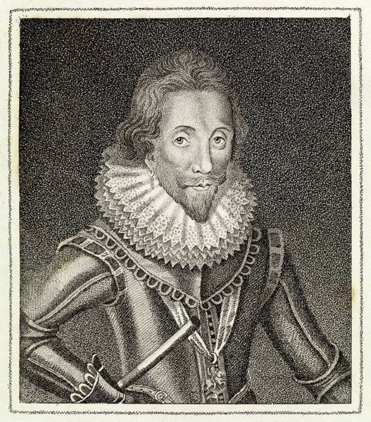 Garter Photograph - Henry Wriothesly by Middle Temple Library/science Photo Library