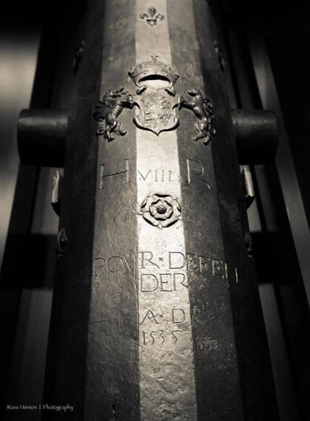 Photograph - Henry's Gun by Ross Henton