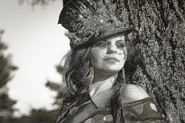 Digital Art - Her by Ericamaxine Price