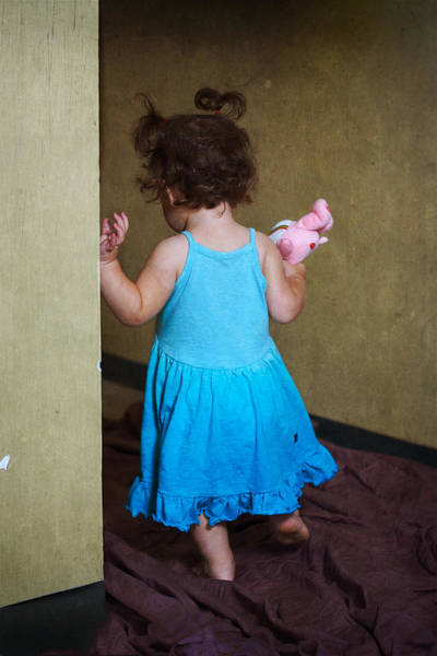 Wall Art - Photograph - Her First Birthday by Julius Reque
