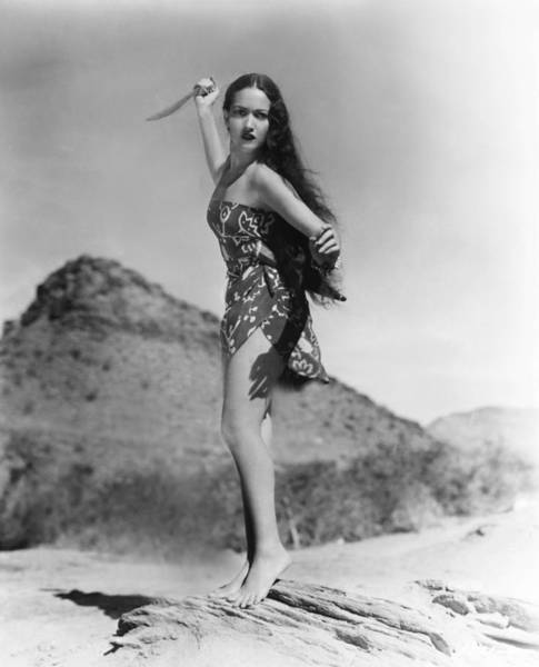 Wall Art - Photograph - Her Jungle Love, Dorothy Lamour, 1938 by Everett