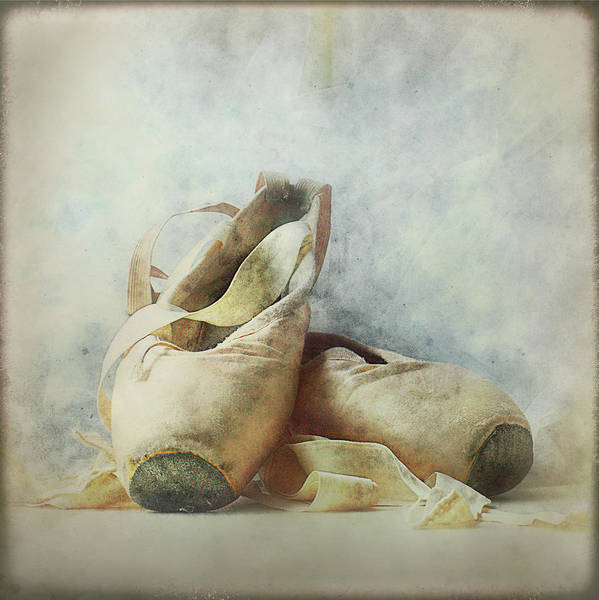 Shoe Photograph - Her Life, Her World....her Shoes by Bob Van Den Berg Photography