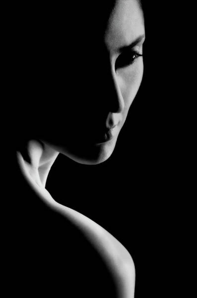 Dark Shadows Photograph - Her by Mohammad Ali Hamooni