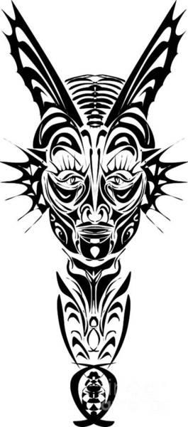Tribal Dance Digital Art - Her by Fashiotastik