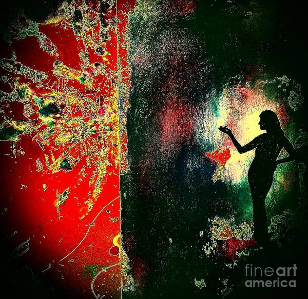 Potential Painting - Her Power To Create by Jacqueline McReynolds