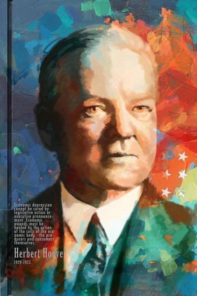 Herbert Hoover Art Print