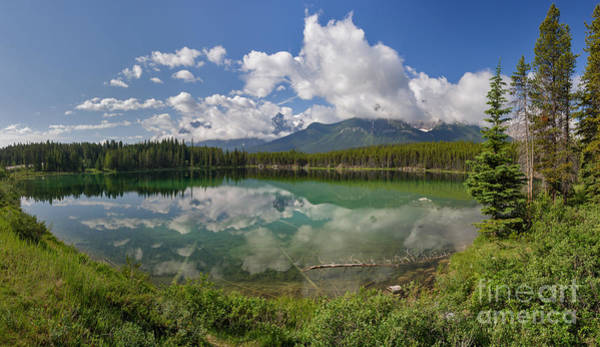 Photograph - Herbert Lake And The Bow Range by Charles Kozierok
