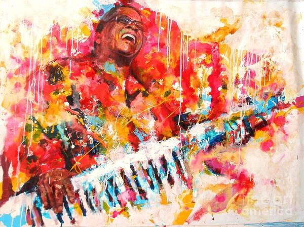 Wall Art - Painting - Herbie Hancock by Massimo Chioccia