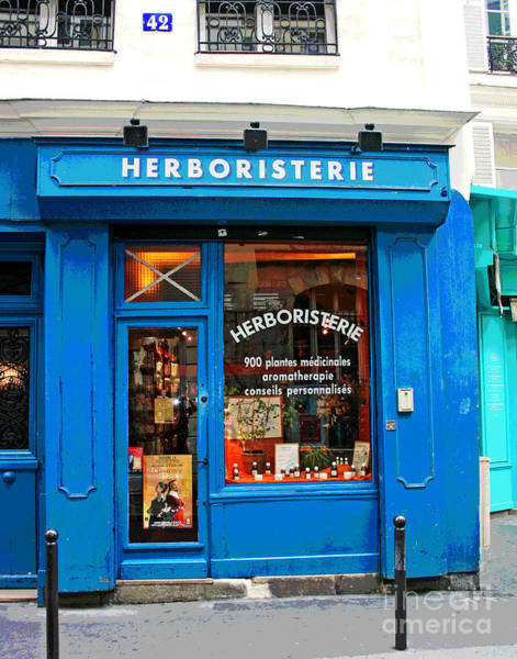 Photograph - Herboristerie by Larry Oskin