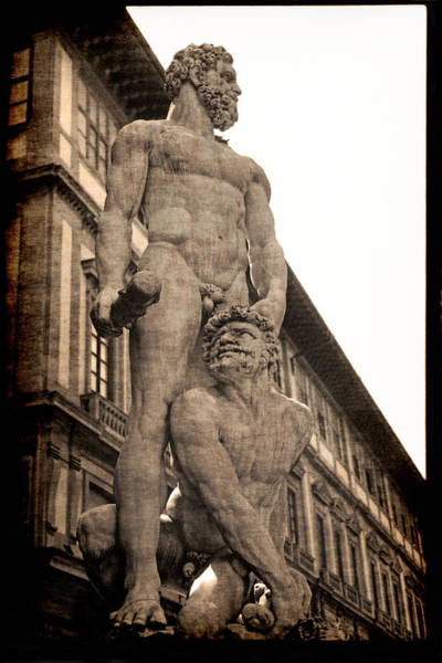 Photograph - Hercules And Caucus In Florence by Jennifer Wright