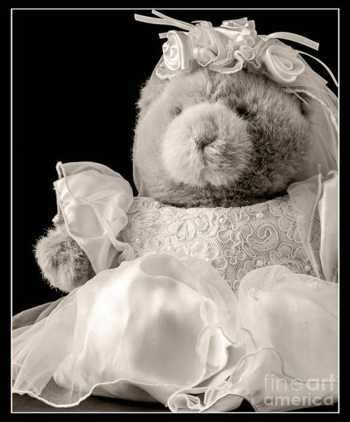 Bridal Photograph - Here Comes The Bride by Edward Fielding