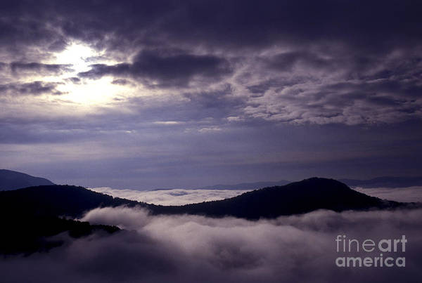 Photograph - Here Comes The Fog by Paul W Faust -  Impressions of Light