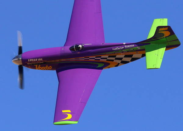Photograph - Who Wants Some Voodoo Love? Winner Of The 2014 Reno Air Races. N551vc by John King