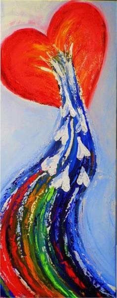 Painting - Here Is Love by Deborah Brown Maher
