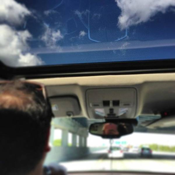Cadillac Photograph - Here We Go Again! #northbound On #i95 by Bryce Gruber
