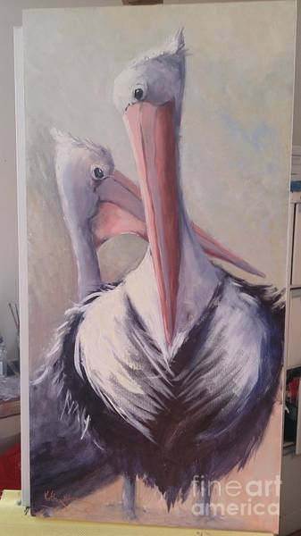 Painting - Here's Lookin At You Kid  by Kathy  Karas