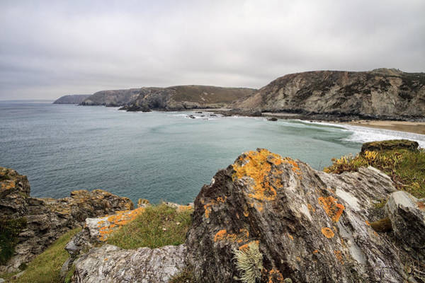Shirleys Bay Photograph - Heritage Coast St Agnes by Shirley Mitchell