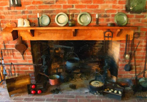 Digital Art - Heritage Kitchen by Chris Flees