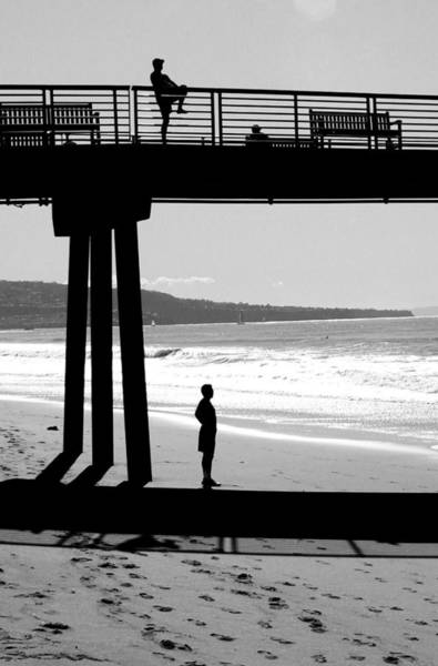 Photograph - Hermosa Pier On A Clear Day by Michael Hope