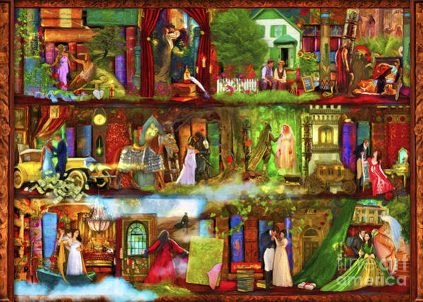 Wall Art - Digital Art - Heroes And Heroines by MGL Meiklejohn Graphics Licensing
