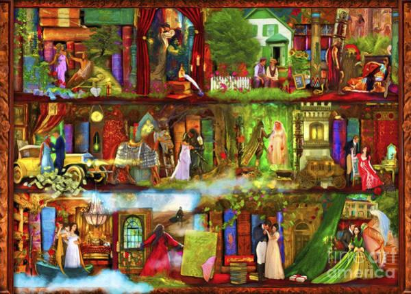 Straight Digital Art - Heroes And Heroines by MGL Meiklejohn Graphics Licensing