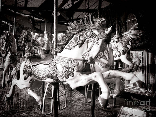 Merry Go Round Photograph - Heroic  by Olivier Le Queinec