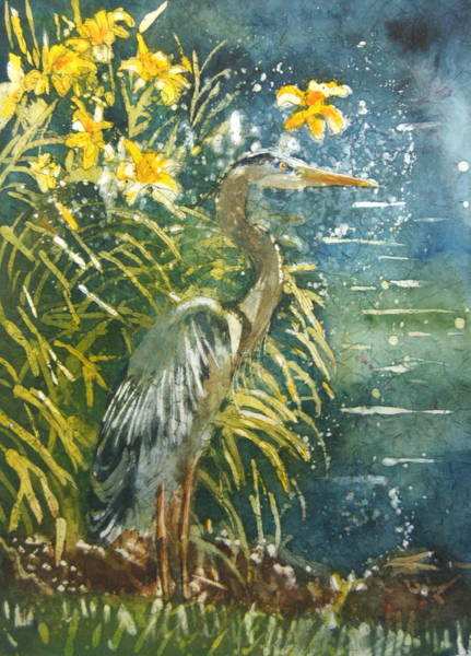 Heron Afternon Art Print