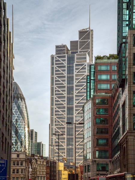 Photograph - Heron Tower From Bishopsgate by Gary Eason