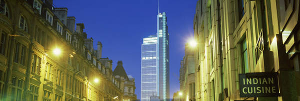 Night-heron Photograph - Heron Tower From London Wall, City by Panoramic Images