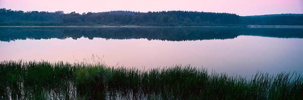 Garrett County Wall Art - Photograph - Herrington Manor Lake, Garrett County by Panoramic Images