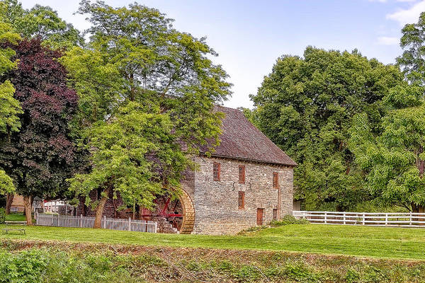 Photograph - Herr's Mill by Jim Thompson