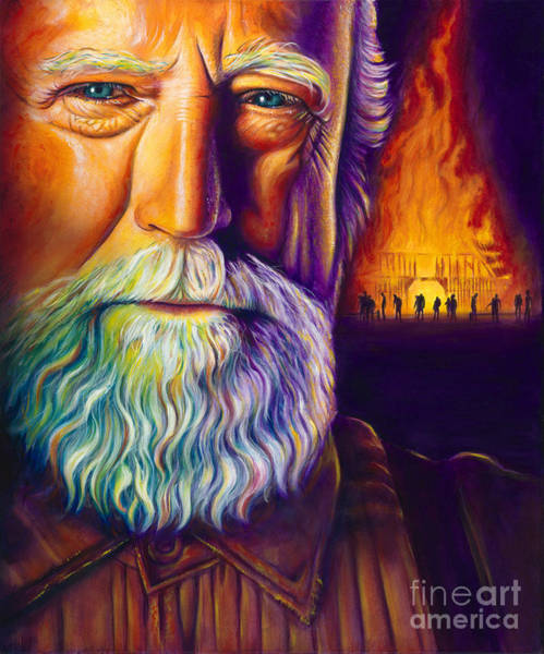 The Walking Dead Painting - Hershel by Scott Spillman