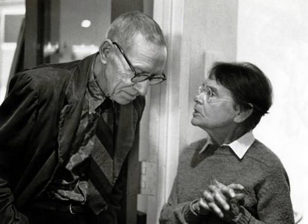 Nobel Prize Laureate Photograph - Hershey And Mcclintock by American Philosophical Society