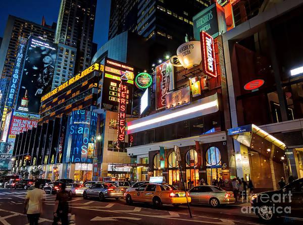 Photograph - Hershey's - New York City by Jeff Breiman